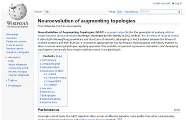http://en.wikipedia.org/wiki/Neuroevolution_of_augmenting_topologies