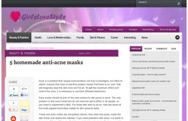 http://www.girlslovestyle.com/5-homemade-anti-acne-masks/