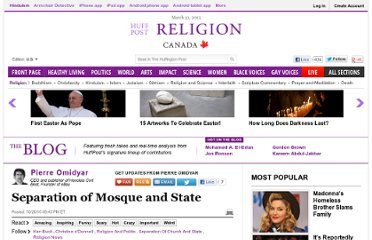 http://www.huffingtonpost.com/pierre-omidyar/separation-of-mosque-and-_b_774473.html