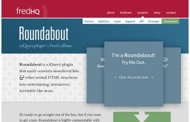 http://www.fredhq.com/projects/roundabout/#demo