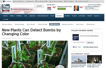 http://www.foxnews.com/scitech/2011/02/14/plants-detect-bombs-changing-color/