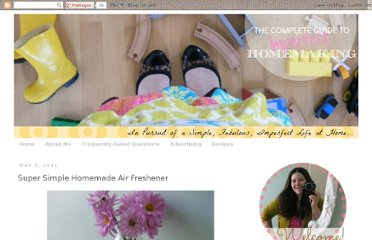 http://www.imperfecthomemaking.com/2011/05/super-simple-homemade-air-freshener.html