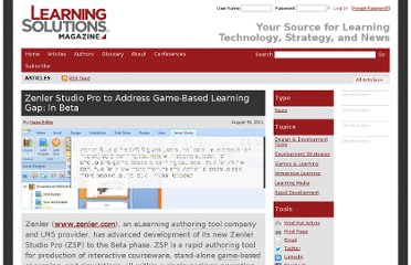 http://www.learningsolutionsmag.com/articles/735/zenler-studio-pro-to-address-game-based-learning-gap-in-beta
