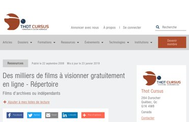 http://cursus.edu/institutions-formations-ressources/formation/12253/22-sources-films-visionner-ligne-libres/