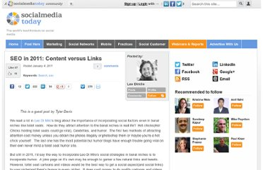 http://socialmediatoday.com/leodimilo/258246/seo-2011-content-versus-links-guest-post