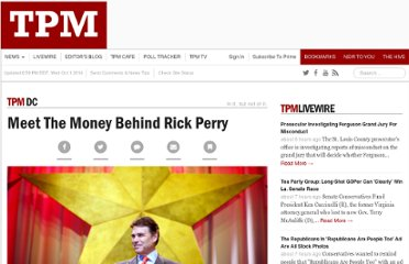 http://tpmdc.talkingpointsmemo.com/2011/09/meet-the-money-behind-rick-perry.php