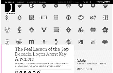 http://www.fastcodesign.com/1662542/the-real-lesson-of-the-gap-debacle-logos-arent-key-anymore