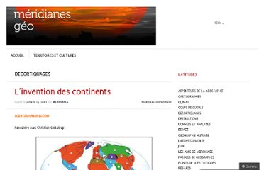 http://meridianes.org/2011/01/15/linvention-des-continents/