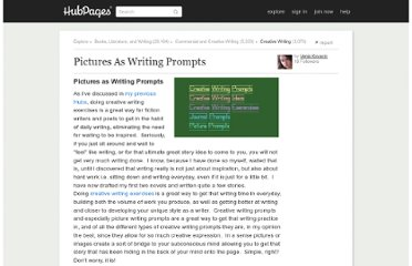 http://vanjakovacic.hubpages.com/hub/Picturesaswritingprompts