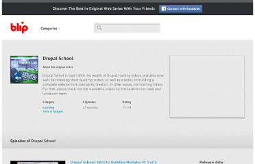 http://blip.tv/drupal-school#1406245