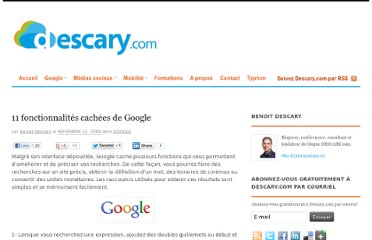 http://descary.com/11-fonctionnalites-cachees-de-google/