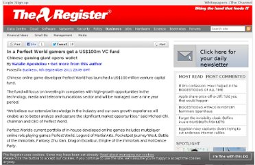 http://www.theregister.co.uk/2011/09/06/perfect_100m_vc_fund/