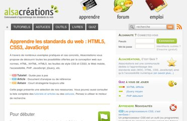 http://www.alsacreations.com/apprendre/
