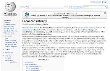 http://en.wikipedia.org/wiki/Local_consistency