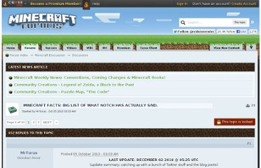 http://www.minecraftforum.net/topic/45895-minecraft-facts-big-list-of-what-notch-has-actually-said/