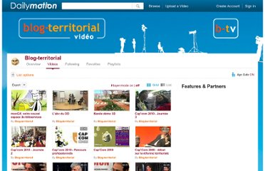 http://www.dailymotion.com/user/Monsieur_Territoires/1