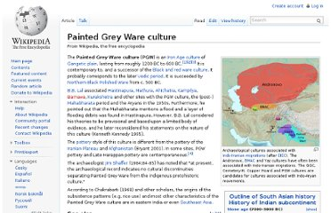 http://en.wikipedia.org/wiki/Painted_Grey_Ware_culture