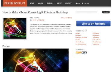 http://designinstruct.com/graphic-design/how-to-make-vibrant-cosmic-light-effects-in-photoshop/