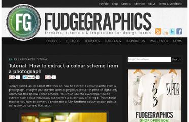 http://www.fudgegraphics.com/2008/06/tutorial-how-to-extract-a-colour-scheme-from-a-photograph/#comment-31991