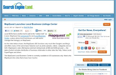 http://searchengineland.com/mapquest-launches-local-business-listings-center-82919