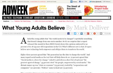 http://www.adweek.com/news/advertising-branding/what-young-adults-believe-103619
