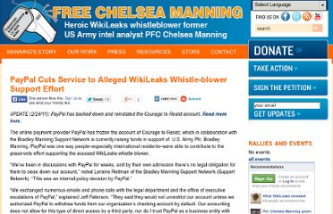http://www.bradleymanning.org/news/paypal-cuts-service-to-alleged-wikileaks-whistle-blower-support-effort