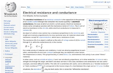 http://en.wikipedia.org/wiki/Electrical_resistance_and_conductance