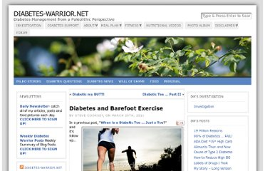 http://www.diabetes-warrior.net/2011/03/29/diabetes-and-barefoot-exercise/