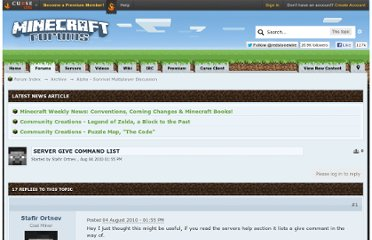 http://www.minecraftforum.net/topic/20597-server-give-command-list/