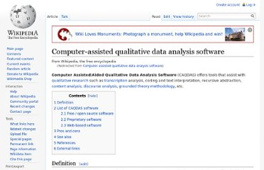 http://en.wikipedia.org/wiki/Computer_assisted_qualitative_data_analysis_software
