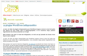 http://www.presse-citron.net/12-plugins-wordpress-indispensables