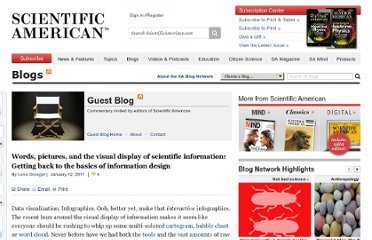 http://blogs.scientificamerican.com/guest-blog/2011/01/12/words-pictures-and-the-visual-display-of-scientific-information-getting-back-to-the-basics-of-information-design/
