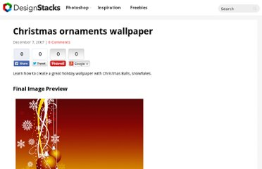 http://www.adobetutorialz.com/articles/2914/1/Christmas-ornaments-wallpaper