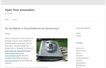 http://open-your-innovation.com/2010/05/16/do-you-believe-in-social-networks-for-researchers/