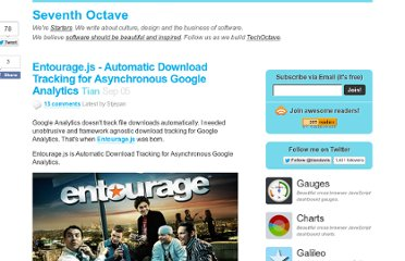 http://techoctave.com/c7/posts/58-entourage-js-automatic-download-tracking-for-asynchronous-google-analytics