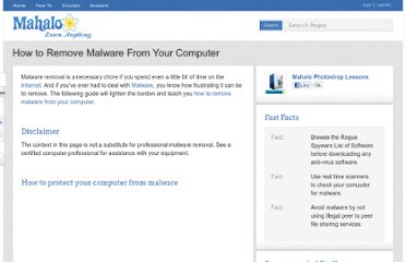 http://www.mahalo.com/how-to-remove-malware-from-your-computer/