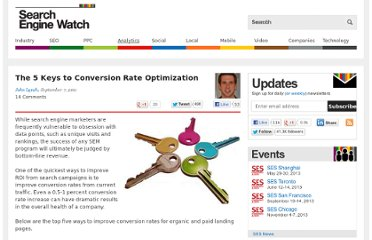 http://searchenginewatch.com/article/2107126/The-5-Keys-to-Conversion-Rate-Optimization
