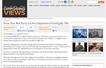 http://www.opposingviews.com/i/politics/2012-election/texas-gov-rick-perry-cut-fire-department-funding-75