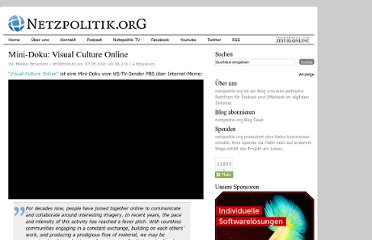 http://netzpolitik.org/2011/mini-doku-visual-culture-online/
