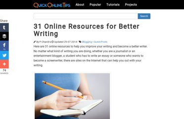 http://www.quickonlinetips.com/archives/2011/09/better-writing-resources/