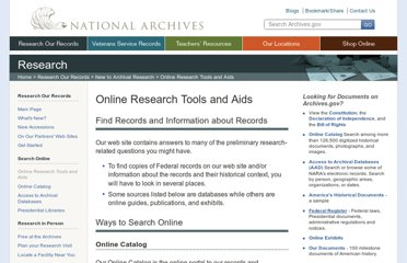 http://www.archives.gov/research/start/online-tools.html