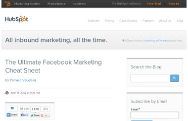 http://blog.hubspot.com/blog/tabid/6307/bid/24422/The-Ultimate-Facebook-Marketing-Cheat-Sheet.aspx
