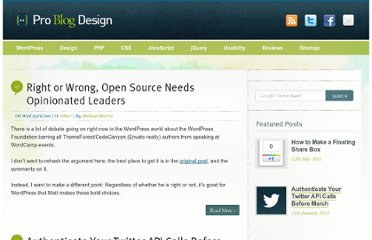http://www.problogdesign.com/tag/wordpress/