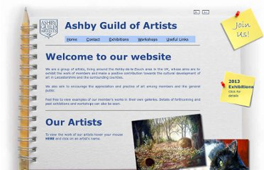 http://www.ashby-guild-of-artists.co.uk/AGA/home.aspx