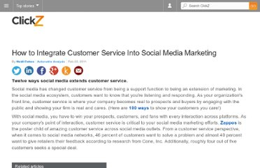 http://m.clickz.com/clickz/column/2027223/integrate-customer-service-social-media-marketing