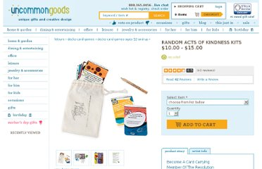 http://www.uncommongoods.com/product/random-acts-of-kindness-kits
