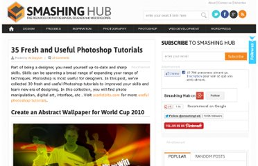 http://smashinghub.com/fresh-and-useful-photoshop-tutorials.htm