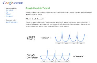 http://www.google.com/trends/correlate/tutorial