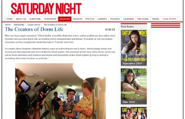 http://www.snmag.com/MAGAZINE/Destination-Success/The-Creators-of-Dorm-Life.html