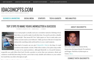 http://idaconcpts.com/2010/11/10/top-3-tips-to-make-your-e-newsletter-a-success/